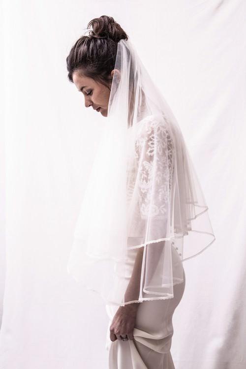 accessoire coiffure mariage, voile de mariée