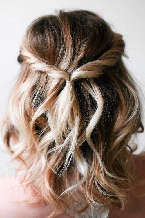 coiffure mariage facile