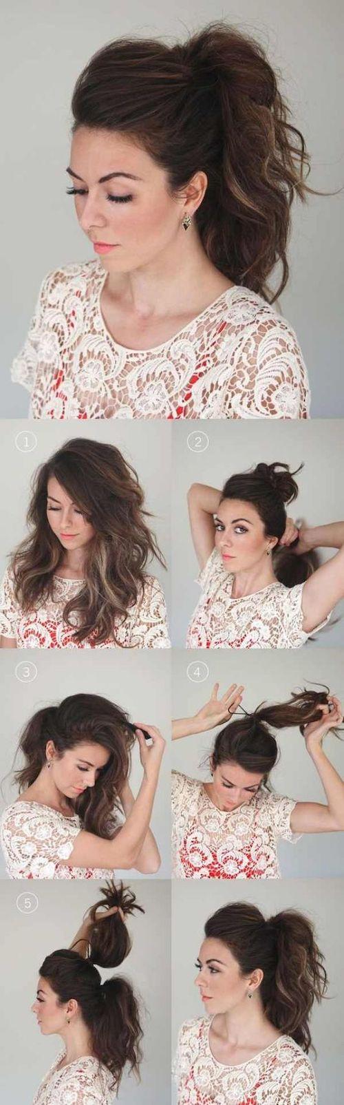 tuto coiffure facile mariage
