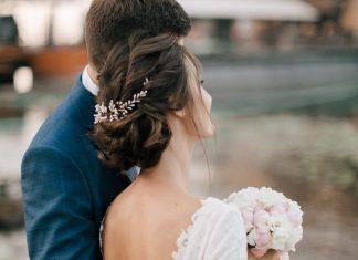 chignon flou mariage