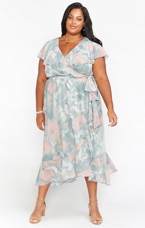 robe de soirée grande taille mariage
