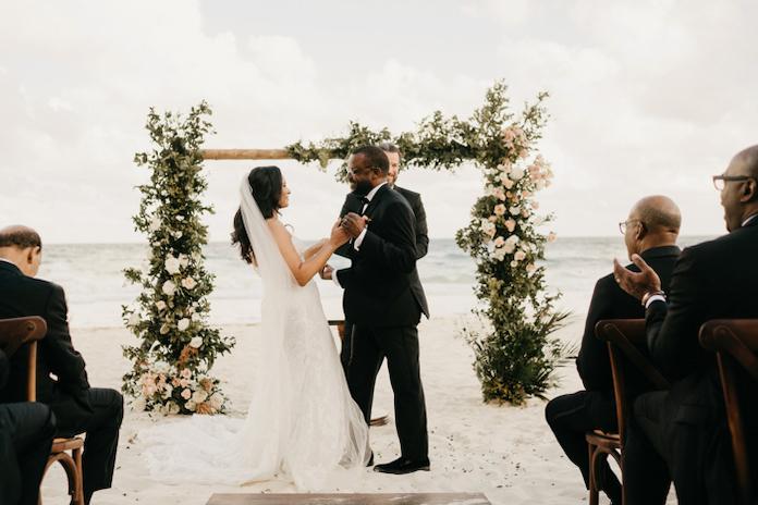 organisation mariage sur la plage