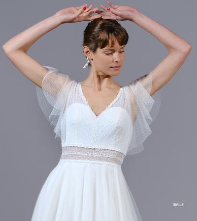 robe de mariée Créations Bochet collection 2022