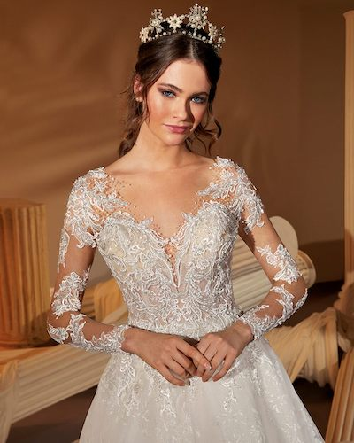 robe de mariée Demetrios collection 2022