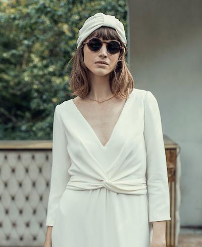 robe de mariée Laure de Sagazan collection 2022