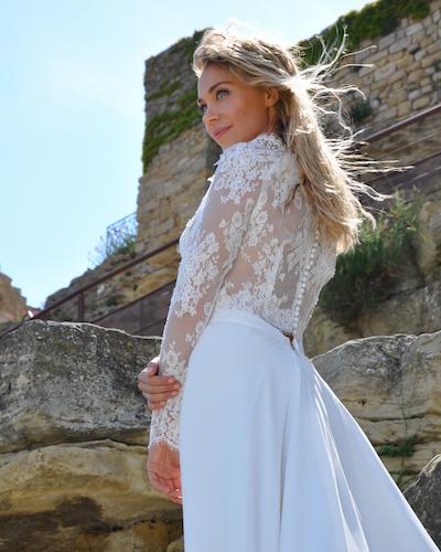 robe de mariée Les Mariées de Provence collection 2022