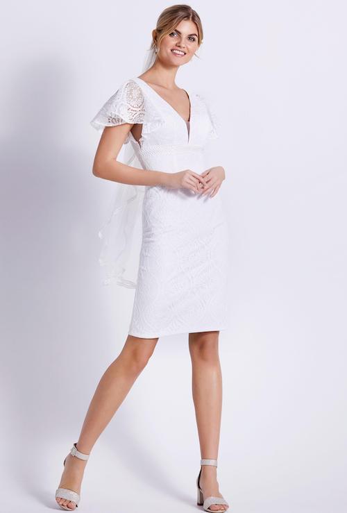 robe de mariée courte 2022