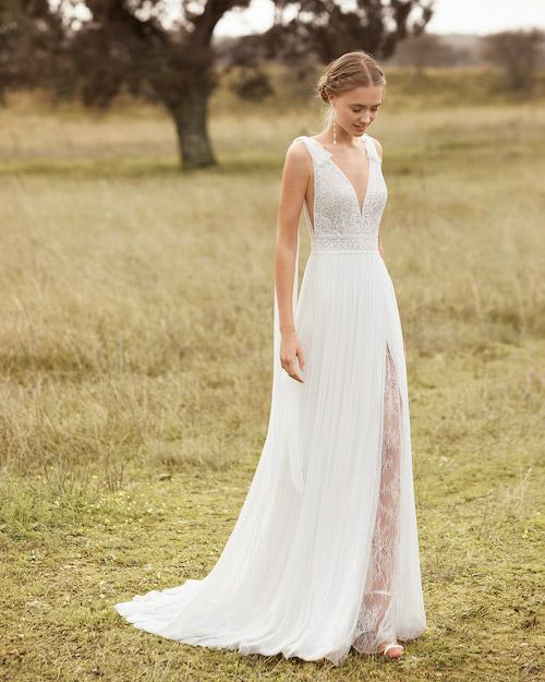 robe de mariée champêtre 2022
