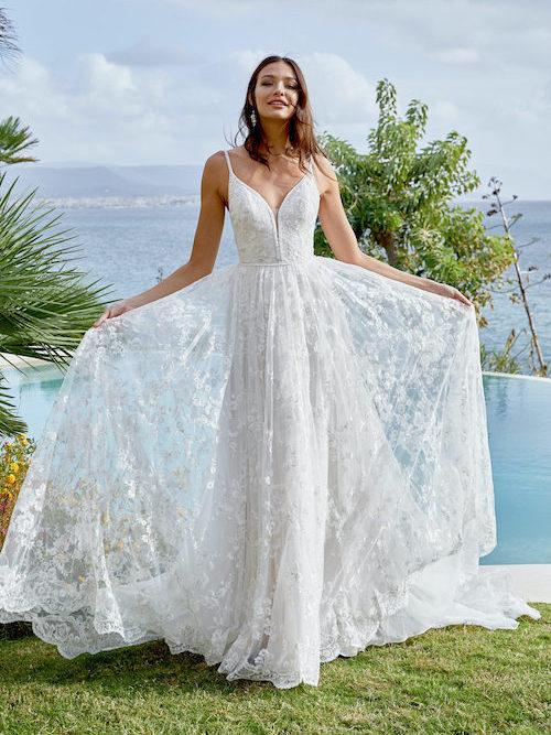 robe de mariée dentelle 2022