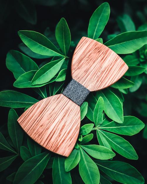 noues papillon en bois mariage The Wood Stock