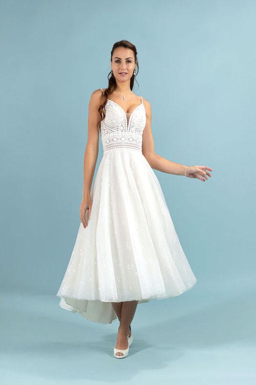 robe de mariée midi 2022